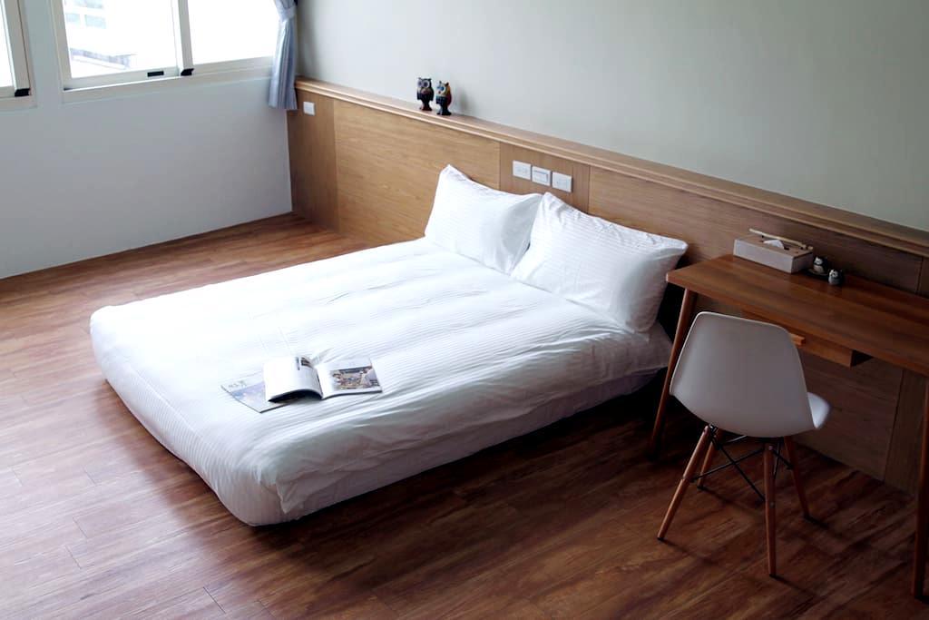 Hualienland Hostel (Double Room-3) - Hualien City