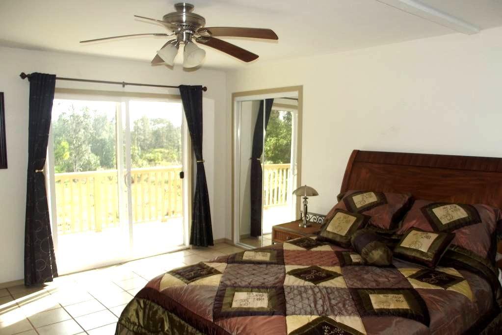 Ohia room, tour guide available - Kurtistown