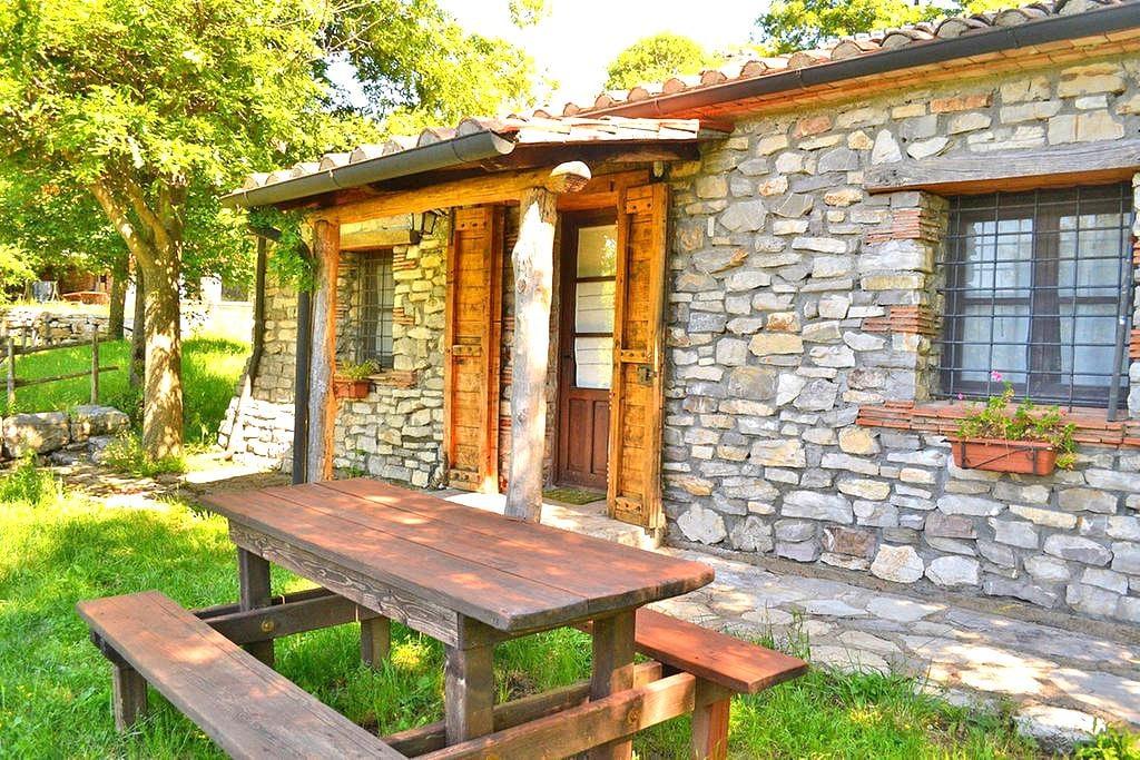 "Cottage ""Narcisi"" - Castell'Azzara (GR) - Wohnung"