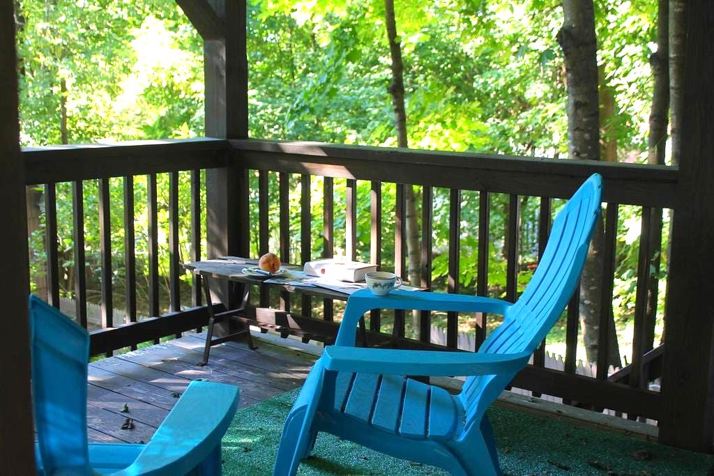 Comfy private room w/bathroom and deck - Little Falls