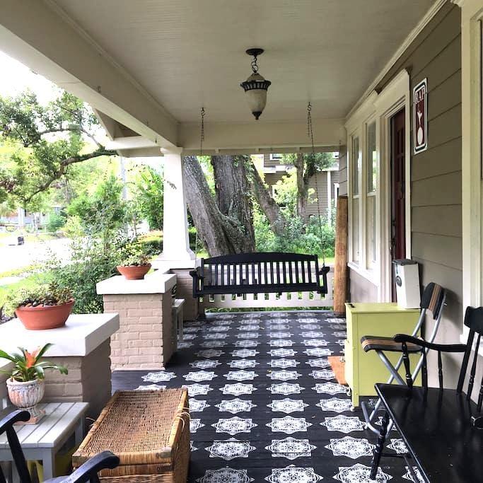 Urban Cottage in Walkable Riverside - Jacksonville - Hus