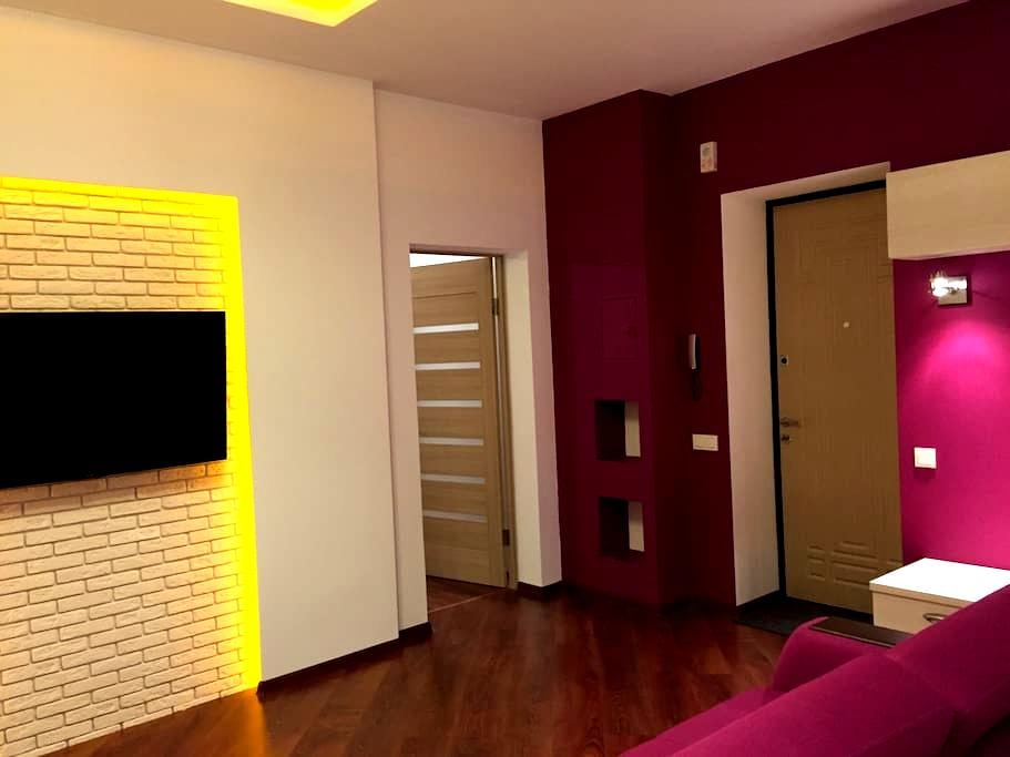 New apartment suite with Jacuzzi - 第聶伯羅彼得羅夫斯克 - 公寓