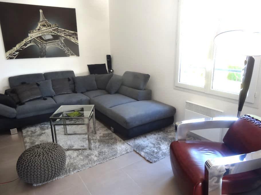 Chambre dans logement récent 50m2 - Angerville - Appartement