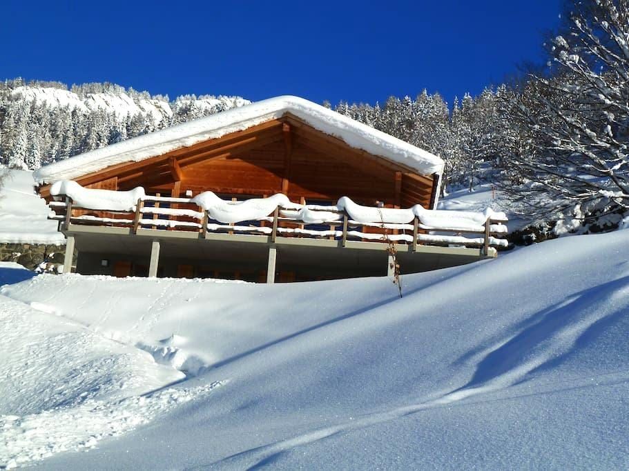 The Verbier Alternative,Levron - Vollèges - Lägenhet