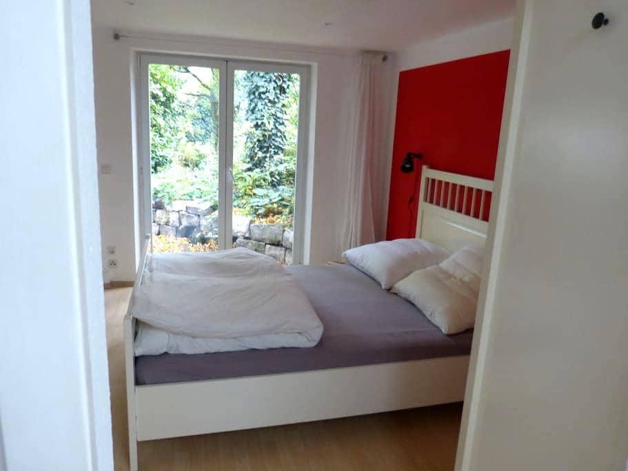 Gartenwohnung, zentral und ruhig - Gießen - Apartment