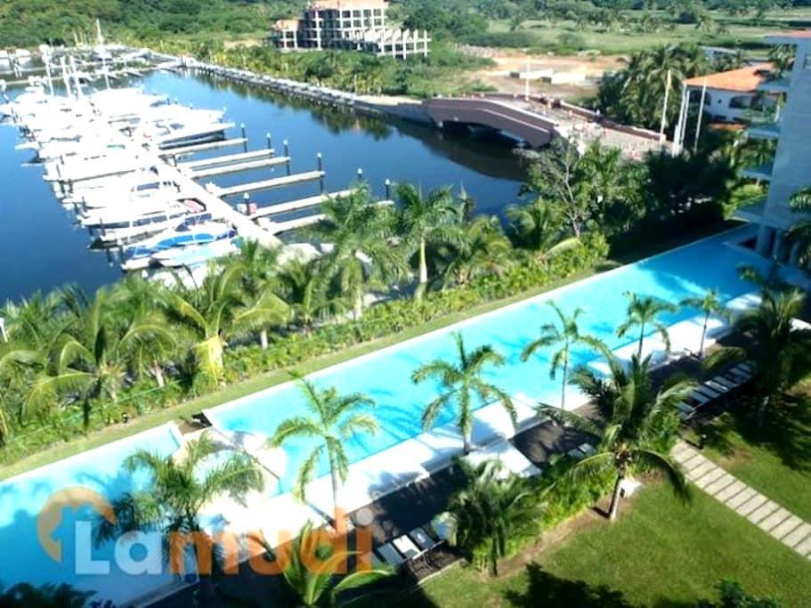 Luxory Apartment in Marina Ixtapa - Zihuatanejo de azueta - Apartament