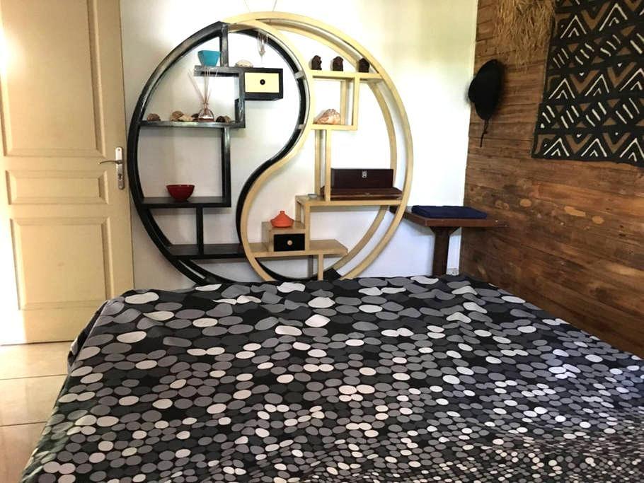 Chambre dans Kaz ambiance - Basse Terre - Casa
