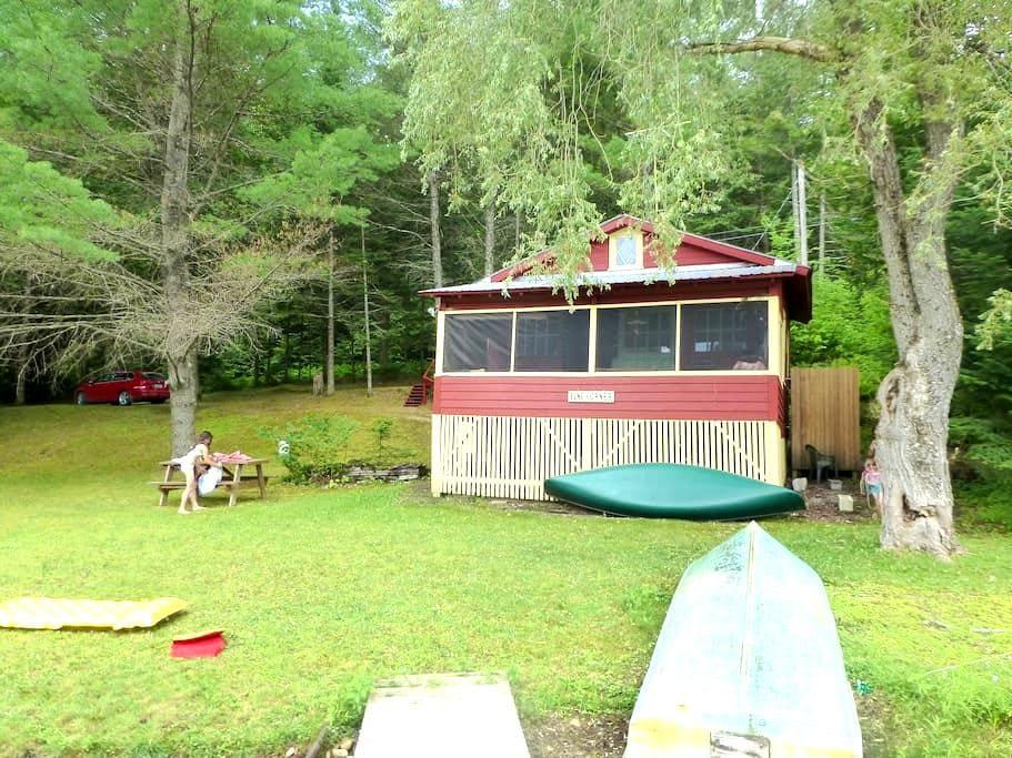 Woodbury Lake Cabin - Woodbury - Mökki