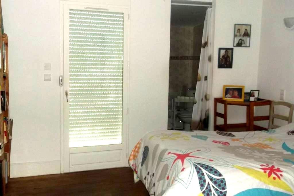 Chambre avec salle d'eau - Vic-Fezensac - Casa