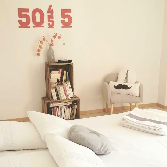 Jolie chambre à 5 mn du lac - Corseaux - Dům