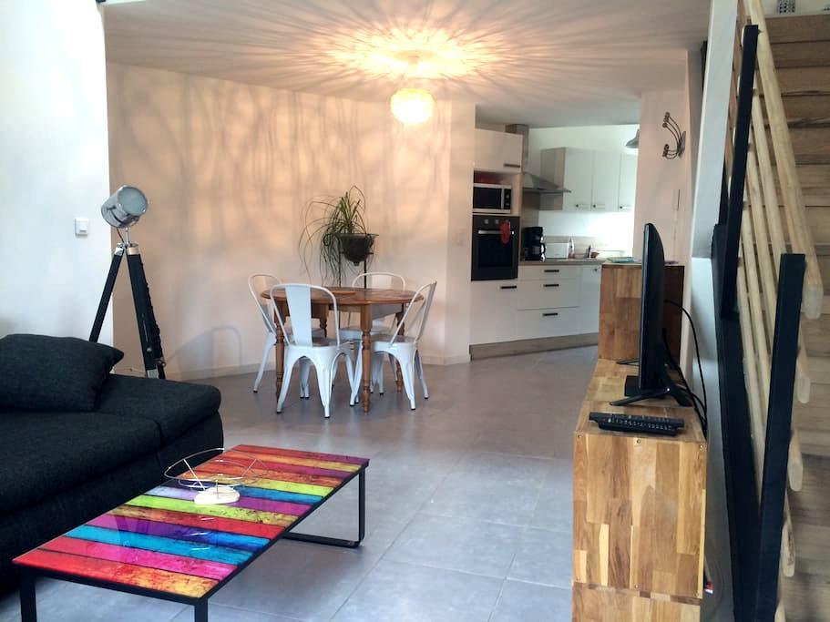 Duplex mezzanine, jardin et garage - Montpellier - Apartment