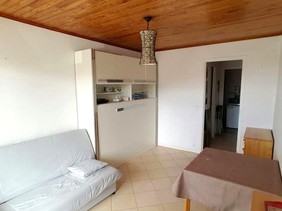 STUDIO AVEC BALCON,4 PERS,PLEIN SUD - Guillaumes - Wohnung