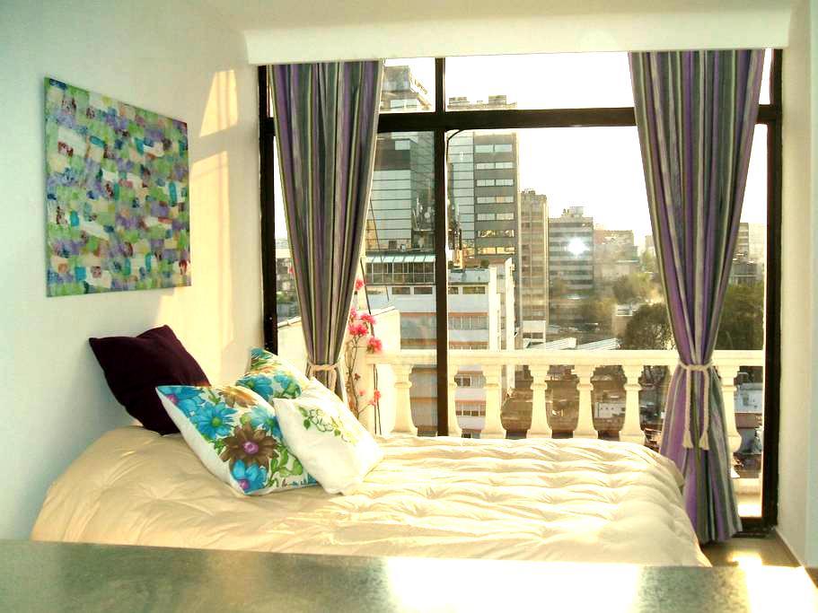 Beautiful suite. - Ciudad de México - Huoneisto
