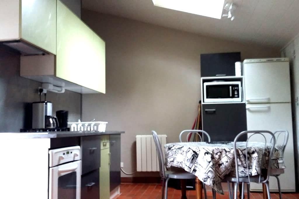 appartement tout confort avec terrasse +parking - Vieille-Brioude - Apartment