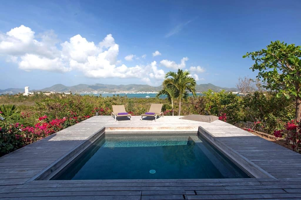 BLUE VILLA  SPECIAL CHRISTMAS PRICE - saint-martin - House