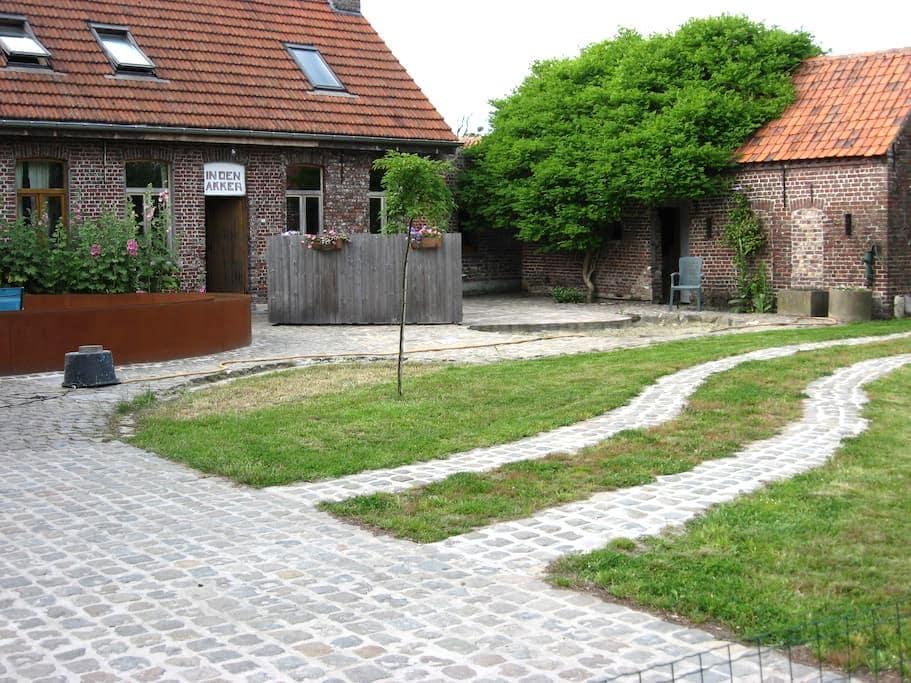 """""""Den Akker"""" (""""The Field"""")  - Oudenaarde/ Welden - Ház"""