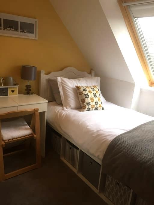 Small bright single room - North Connel - Bed & Breakfast