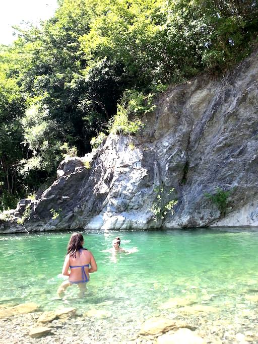 Trebbia, the green river - Ottone - อพาร์ทเมนท์
