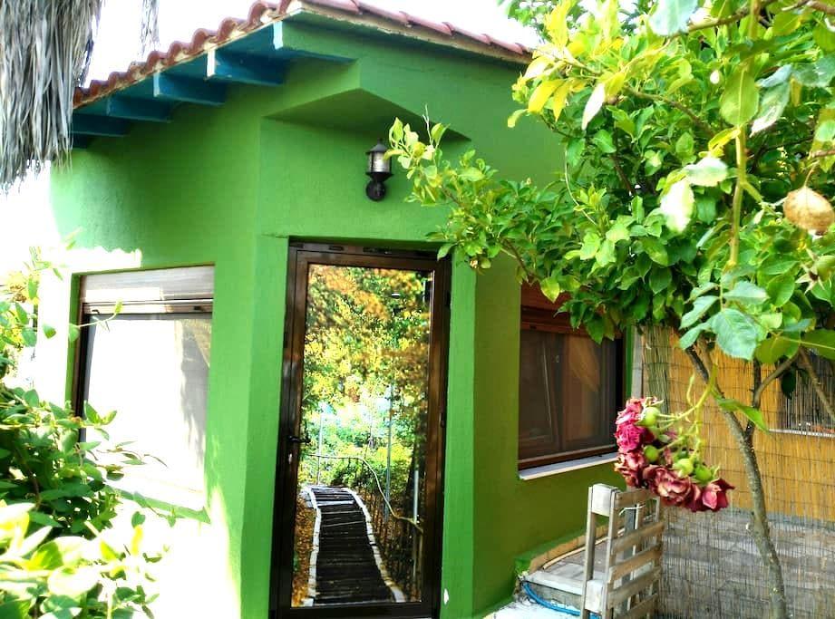 a small house near to the sea  - Toroni