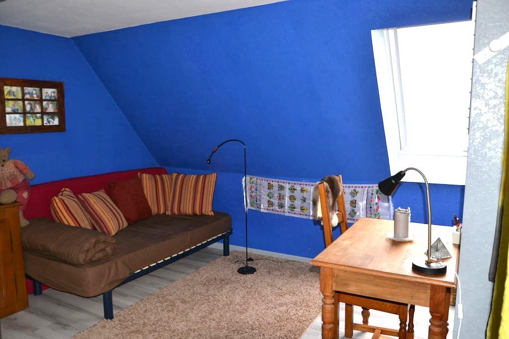 La chambre bleue - Marmoutier - Appartement