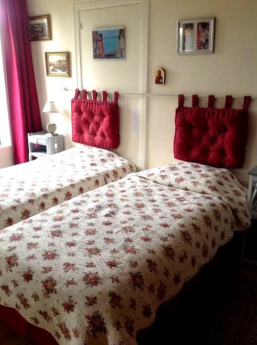 Chambre très claire, proche forêt - Compiègne - Apartament