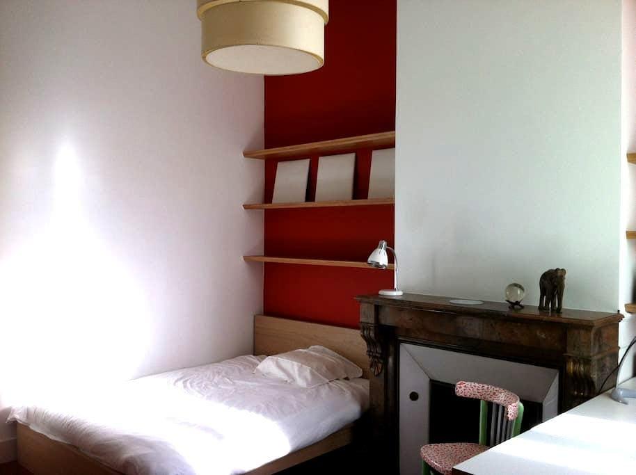 Chambre lit double petit déjeuner - บอร์กโดซ์ - ที่พักพร้อมอาหารเช้า