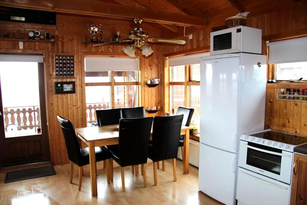 Golden Circle, cottage with a view and free Wi-Fi - Blaskogabyggd - Casa