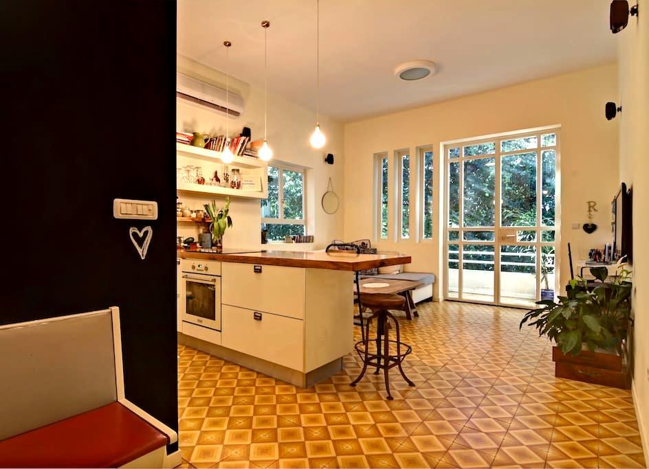 Amazing flat~Best location in TLV! - Tel Aviv - Appartamento