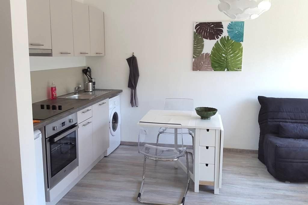 Studio centre ville avec parking - Thonon-les-Bains - Apartment