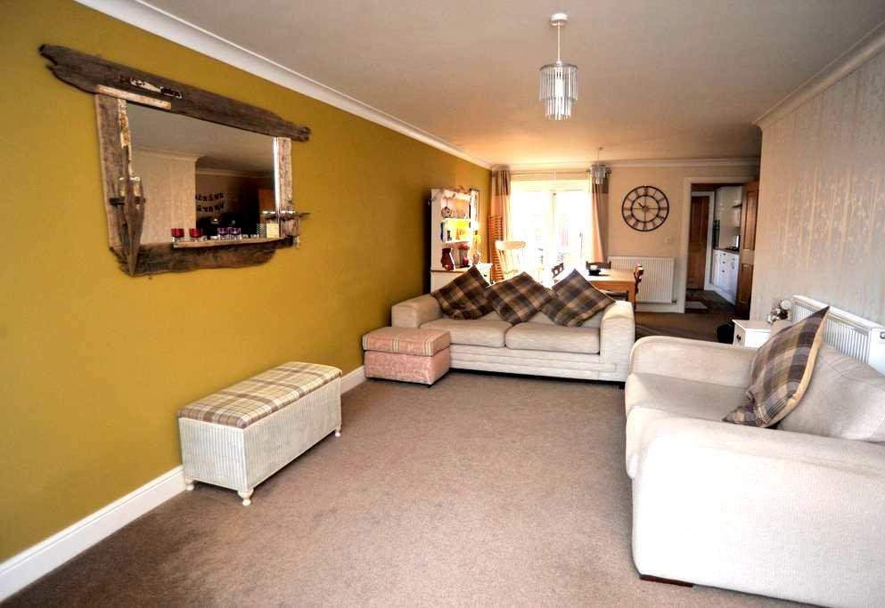 Modern coastal 3 bedroom house in Saltburn - Saltburn-by-the-Sea - Casa