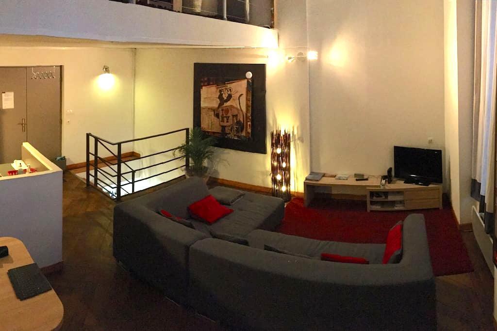 90 m2 3 chambres Lille Hyper Centre 7 personnes - Lille - Huoneisto