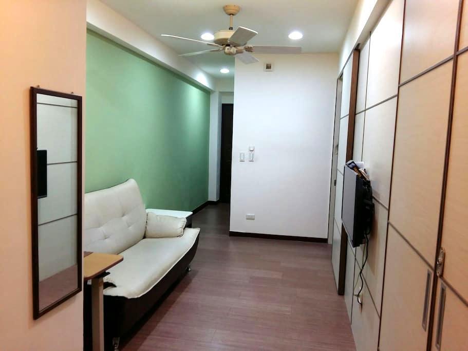 綠屋:台中火車站電梯小公寓 - Central District - Apartamento