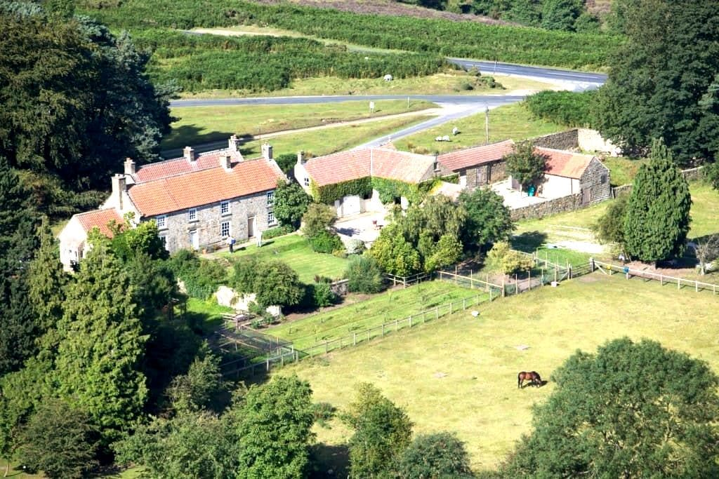 Unique 18th century lodge in National Park,N.Yorks - Hutton-le-Hole - Bed & Breakfast