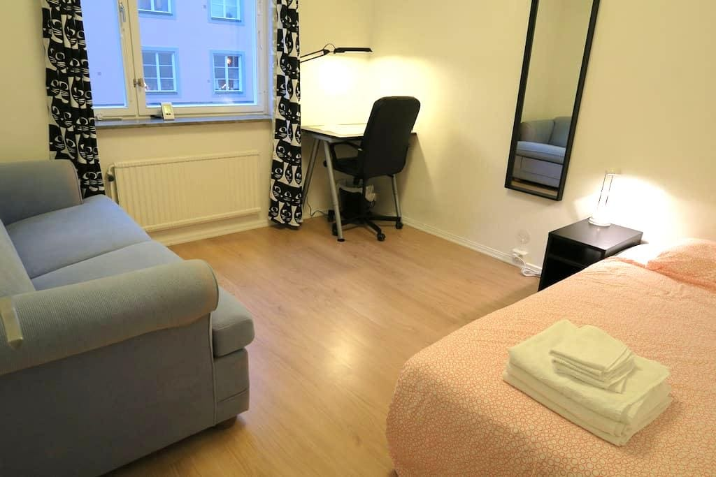Tidy room at the hottest spot of Södermalm - Stockholm - Apartment