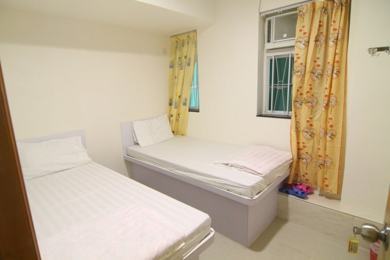Cozy Twin room 1 min to MTR 606