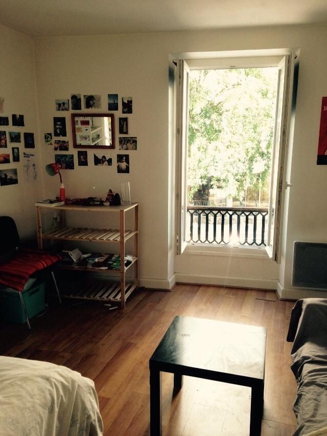 Joli studio en plein cœur de Paris