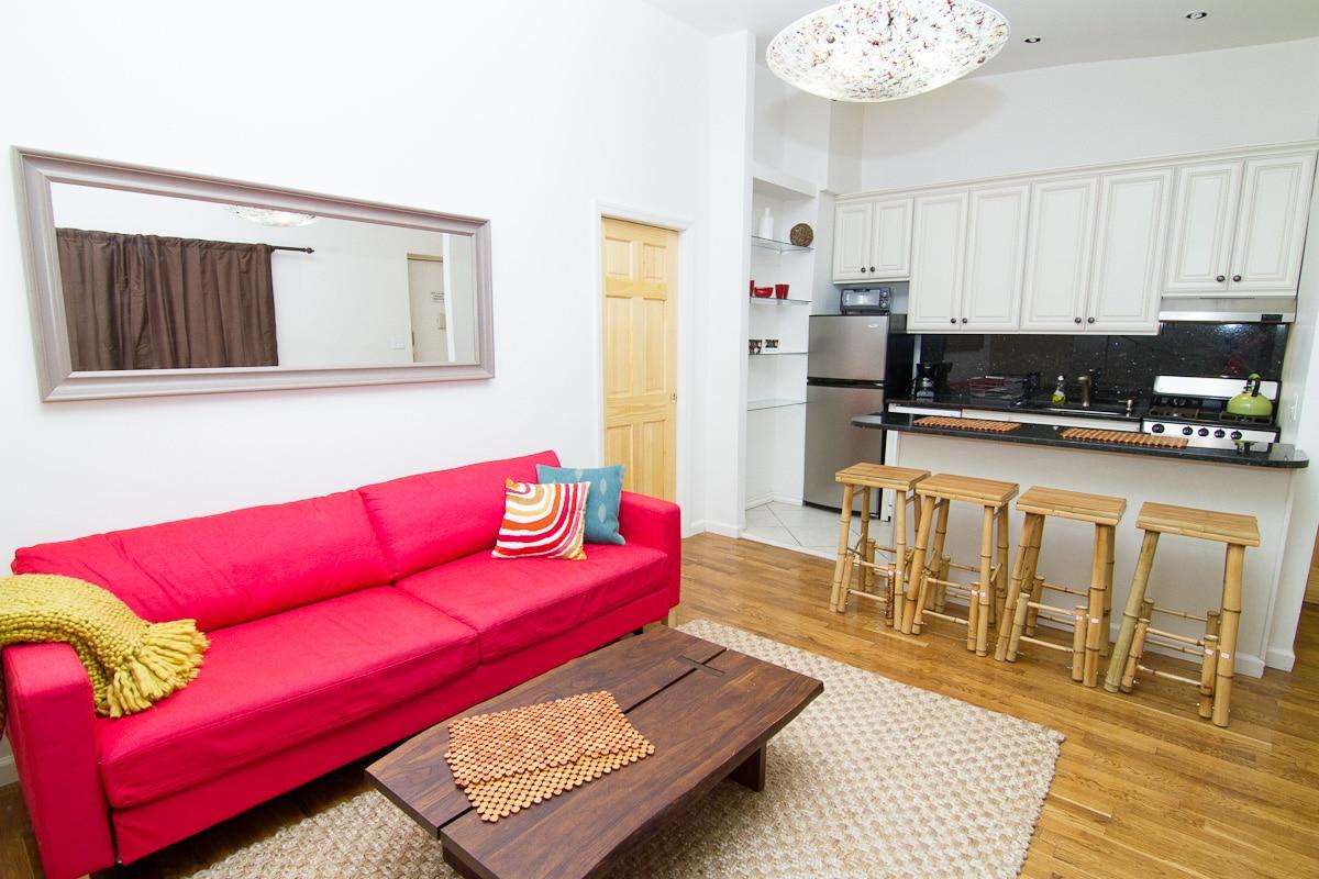 Quiet apartment w/terrace