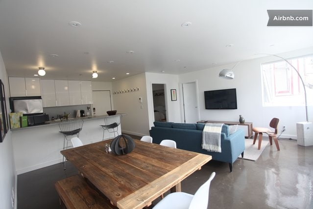 Modern Apartment in the Haight