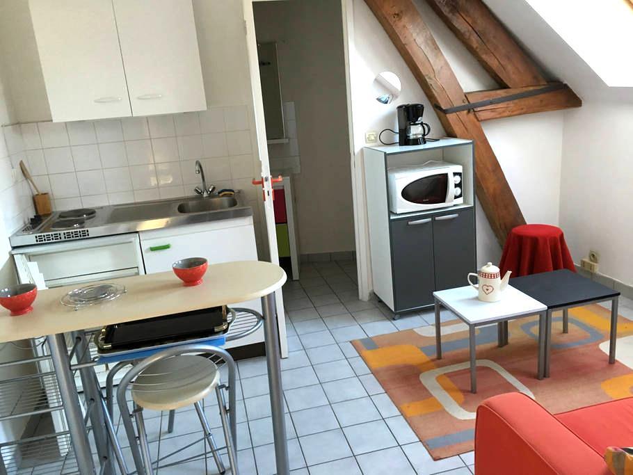 1 studio  t1+ plus  dans propriété - Longueil-Annel - Apartment