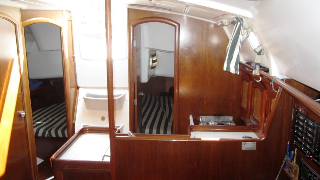 two stern cabin