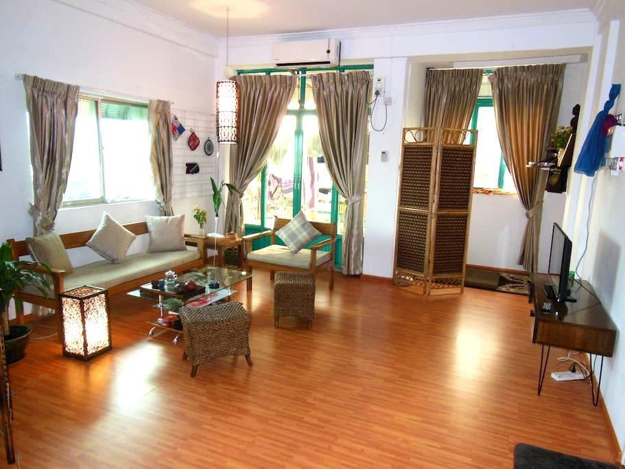 Beautiful Room near Kandawgyi Lake - Yangon - Apartamento