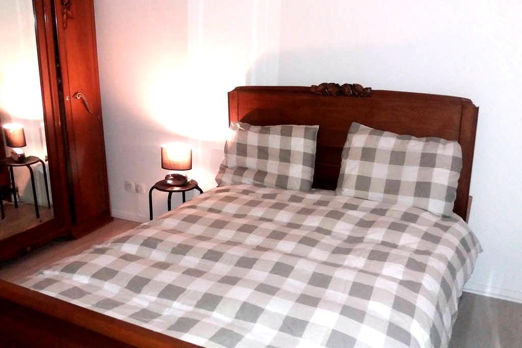Chambre double equipée dans appartement neuf - Garges-lès-Gonesse - Kondominium
