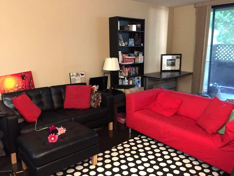 Large private room near airport - San Bruno - Pis