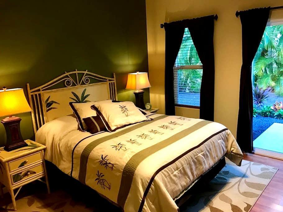 Clean, Comfortable Bedroom in Kona - Kailua-Kona - Hus