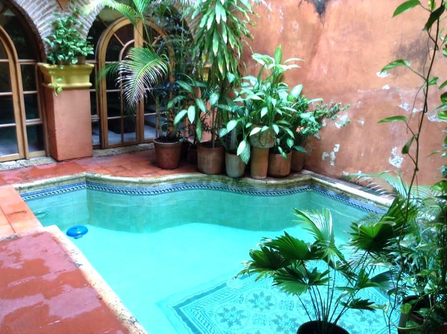 Great view and pool in the heart of Cartagena. - Cartagena - Huis
