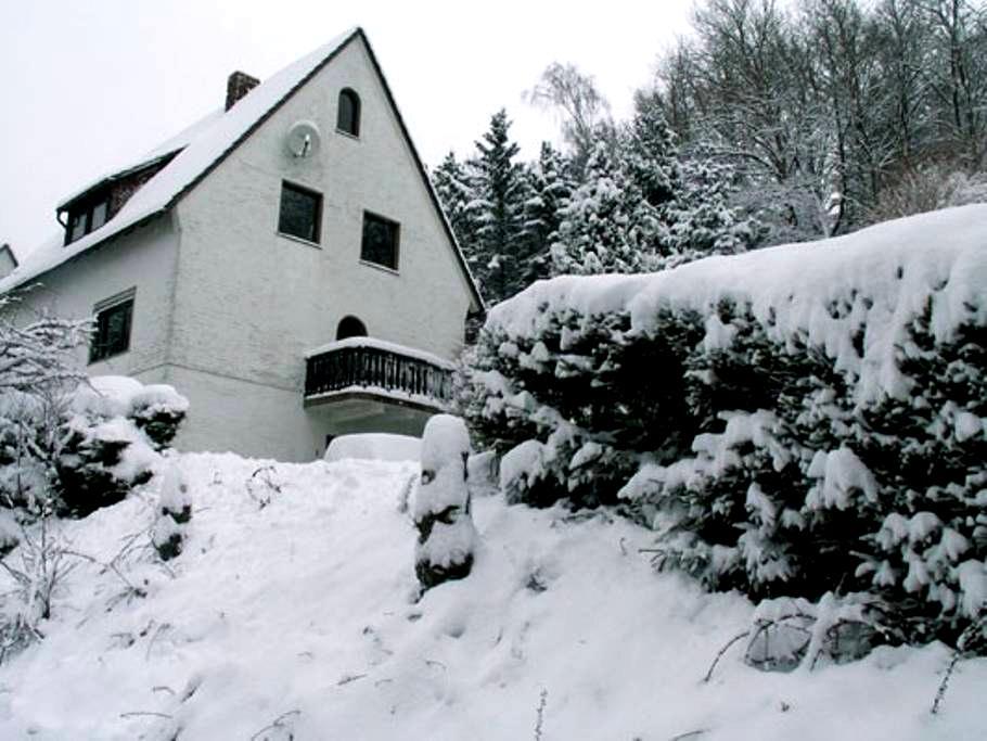 Knus appartement op ideale locatie - Hallenberg - Huoneisto