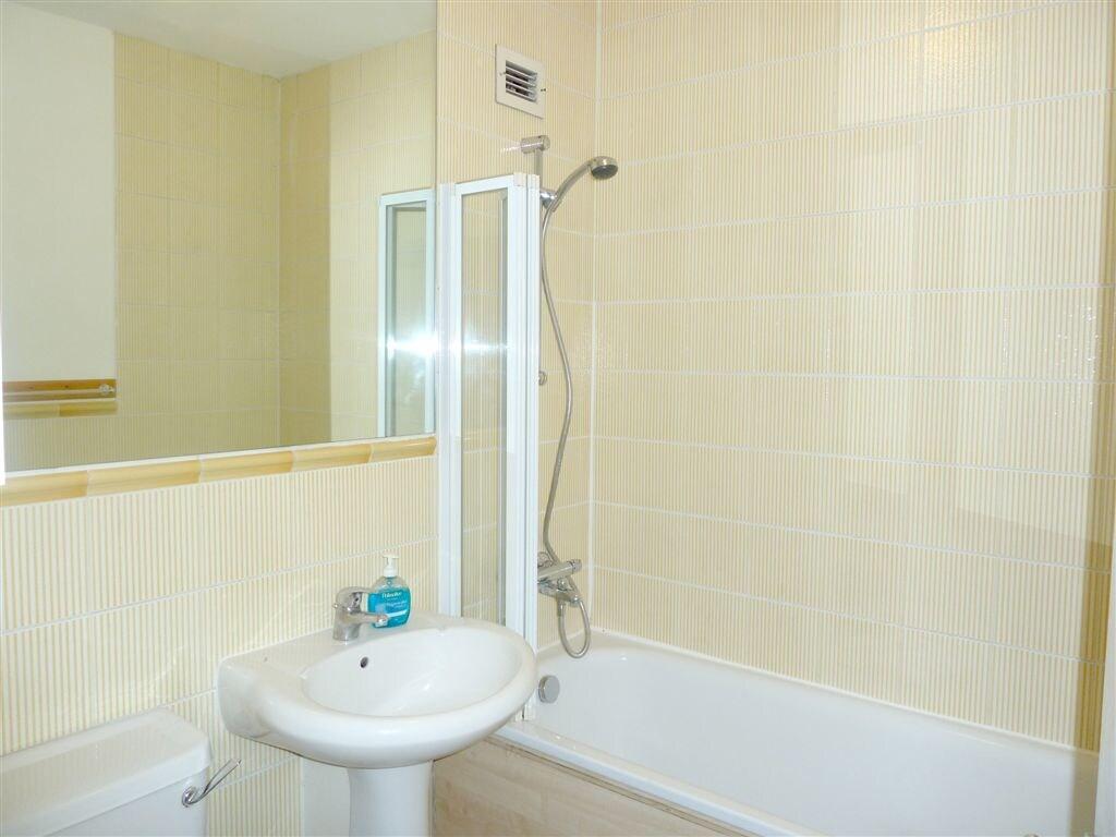 Bathroom: WC, basin, full sized bath, power shower, heated towel rail