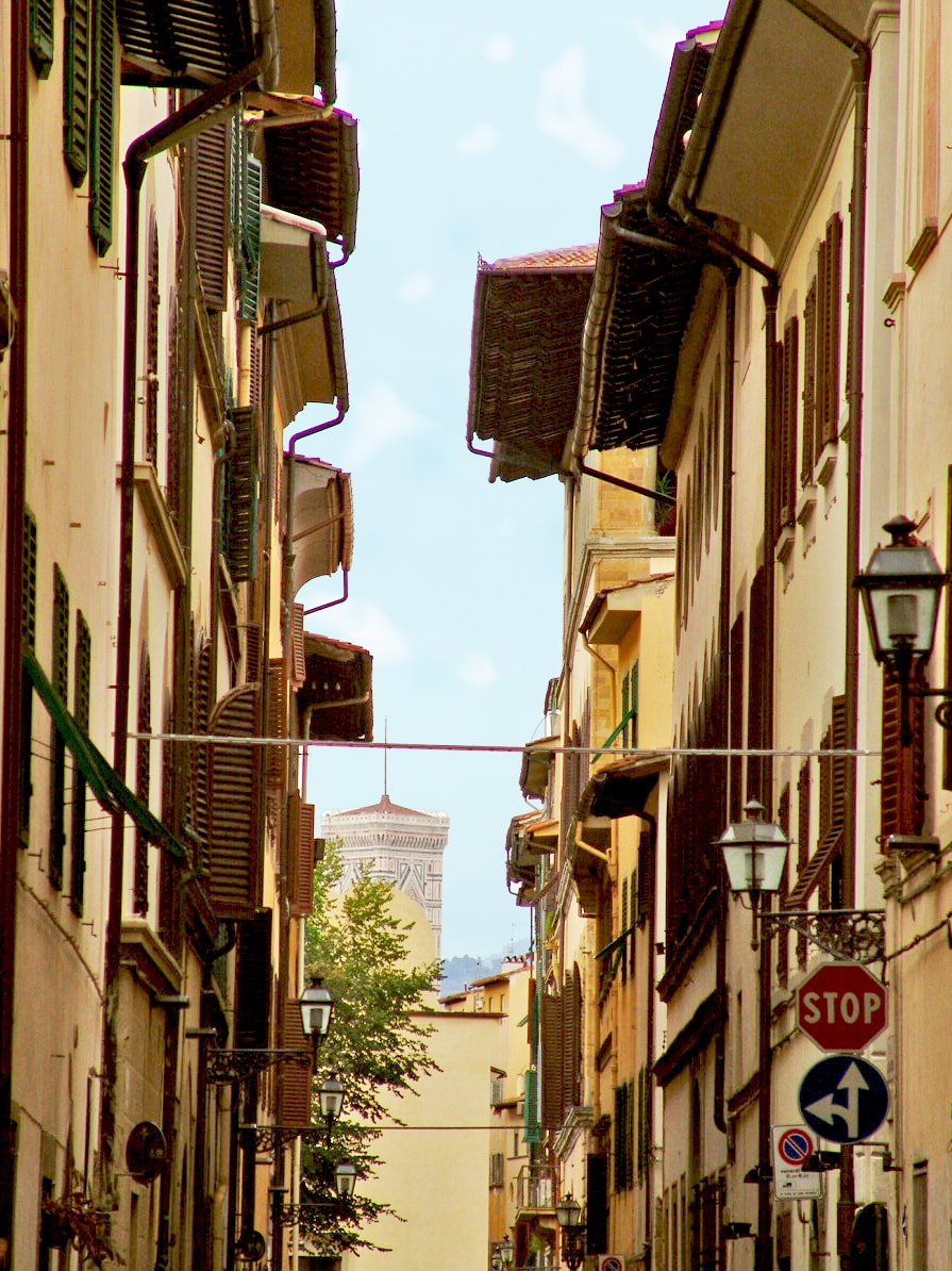 a Giotto's view from via delle caldaie