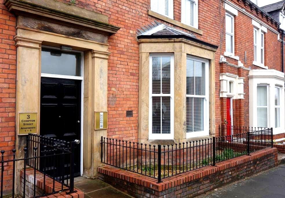 Stylish apartment in city centre - Carlisle - Apartament