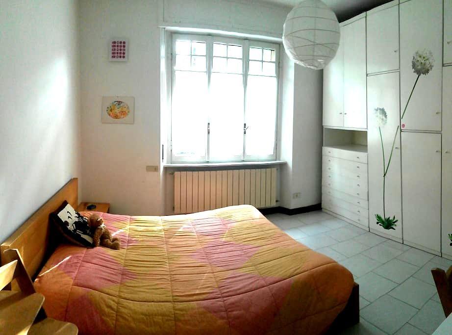 Bright double room in Como - Como - Leilighet